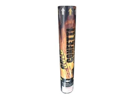 Confetti Cannon - Black/Gold