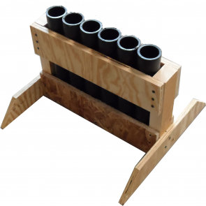 6 Shot Rack