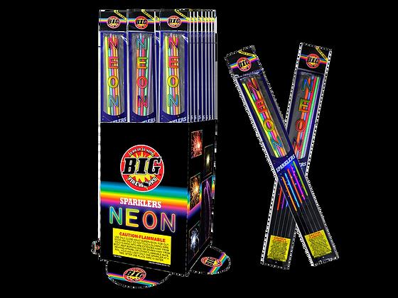 "Neon Sparkler - 20"" Metal"