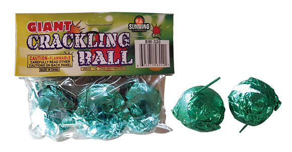 Giant Crackling Ball