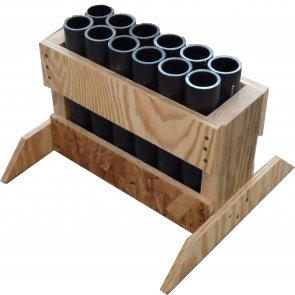 12 Shot Rack - Hdpe