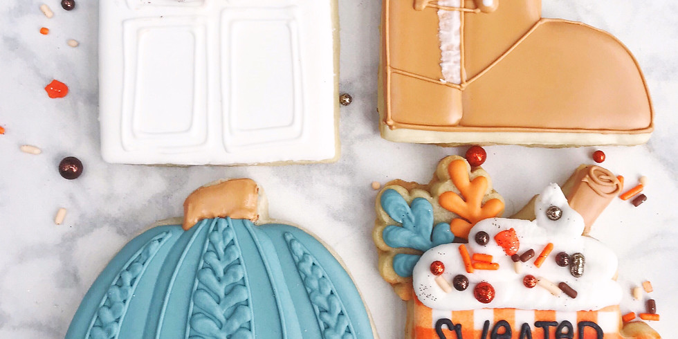11/13 Fall Cookie Decorating Class
