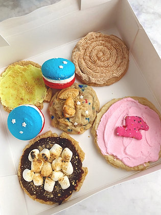 4th of July Cookie Box