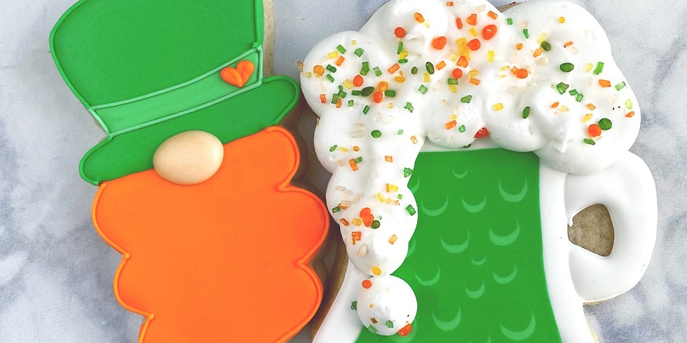 St. Patrick's Day Cookie Class