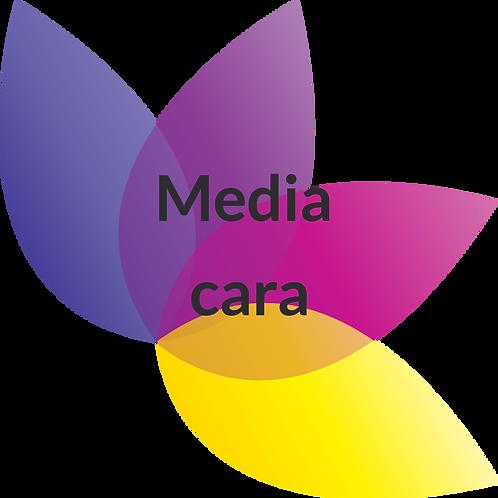 Media cara