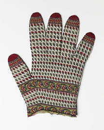 Warren Hastings' Glove, c. 1780, Ashmolean Museum, EAX.2480