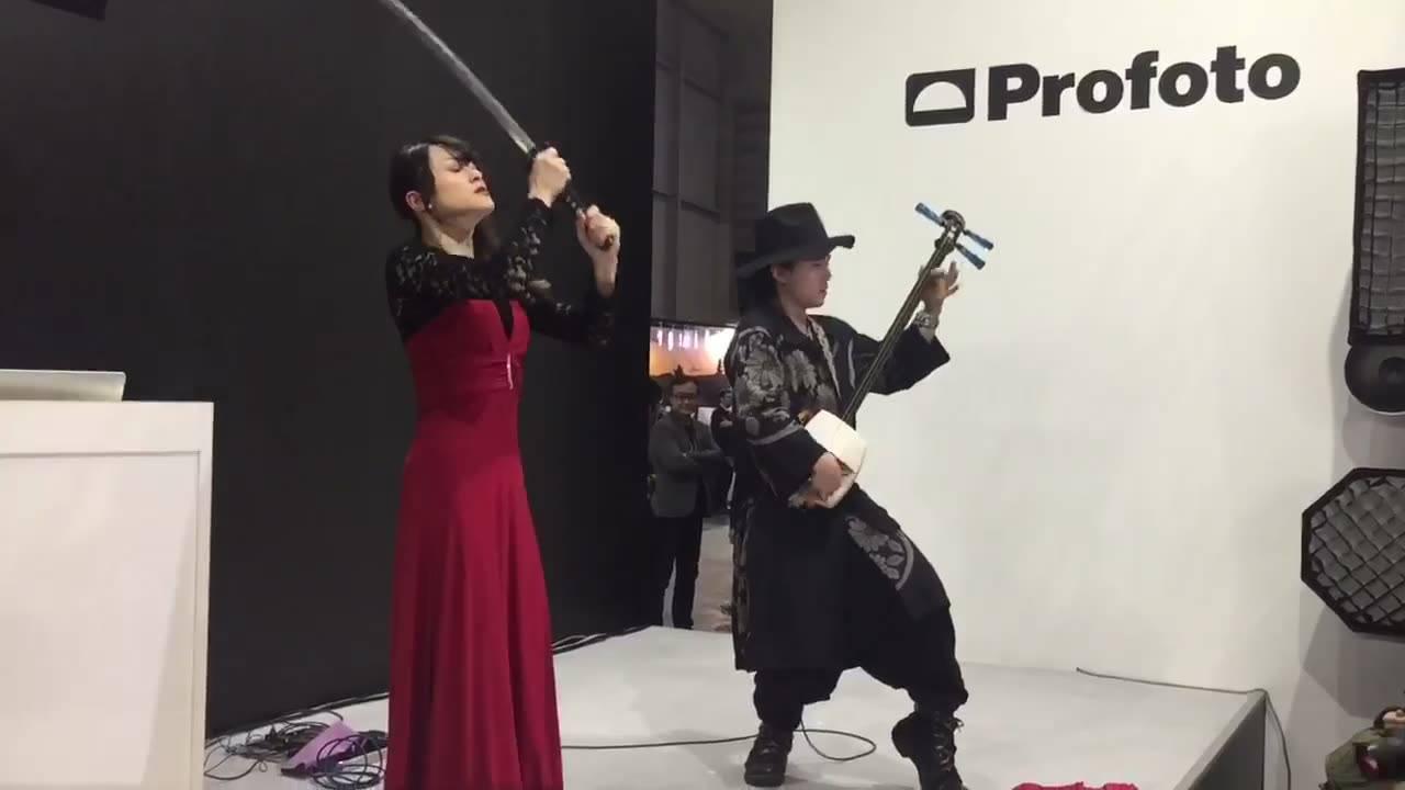 Shamisen & Sword dance