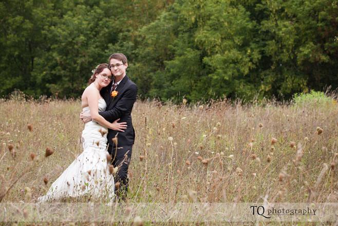 {MYLES & DEANNA} - WALTER'S FALLS WEDDING PHOTOGRAPHY
