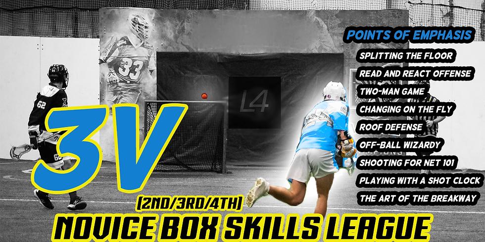 Novice 3v3 Box Skills League (2nd/3rd/4th)
