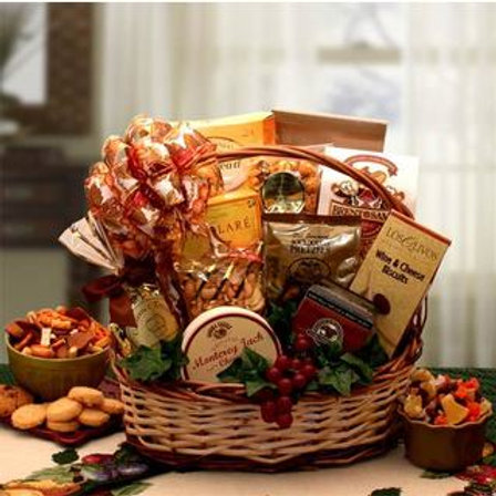 Fall Gourmet Gift Basket