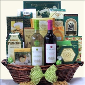 Gourmet Wine Basket