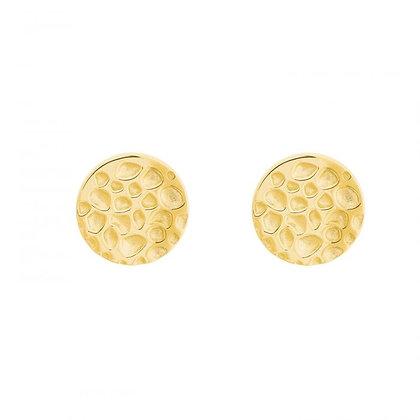 Ohrstecker gelbvergoldet, Silber 925