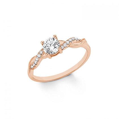 Ring Zirkonia Silber 925 rose
