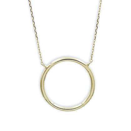 Collier Circle of Life, vergoldet Silber 925