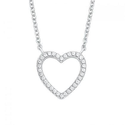 Halskette Herz Silber 925