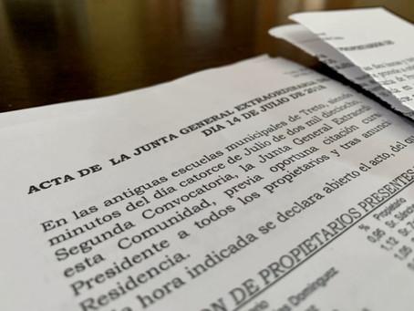 ¿Como puedo impugnar los acuerdos de la Junta de Propietarios?