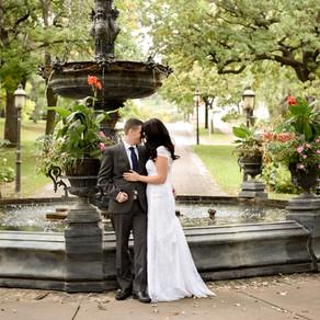 Romantic Wedding Vibes at Irvine Park in Saint Paul