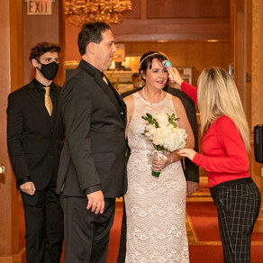 Classic Covid Wedding at the Legendary St Paul Hotel