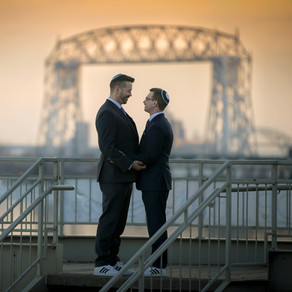 Charlie & Justin | Lake Superior Wedding at Fitger's Inn | Duluth, MN
