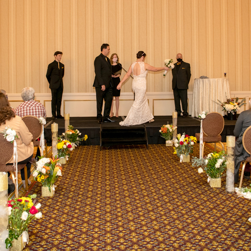 Wedding at St. Paul Hotel during Covid-19