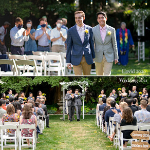 Tyler & Kevin's Wedding Journey from Covid to a Classic!