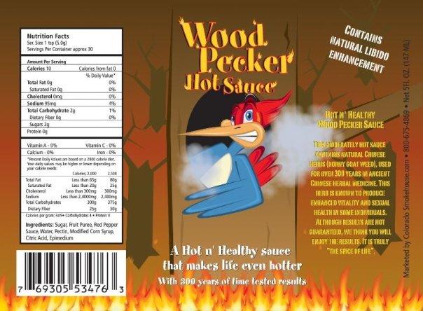 Woodpecker Hot Sauce