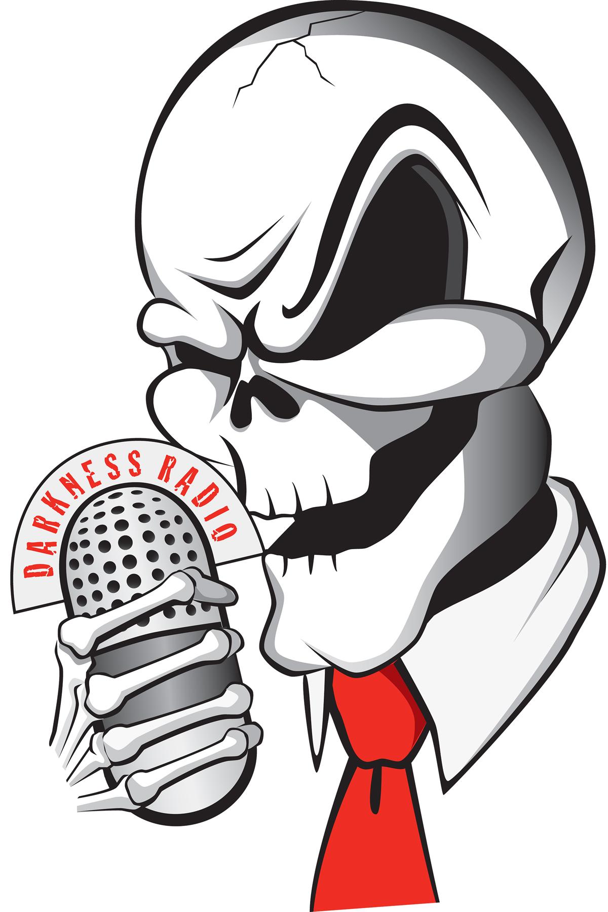 Darkness Radio Skull
