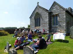 Picnic Lunch At Dewlish