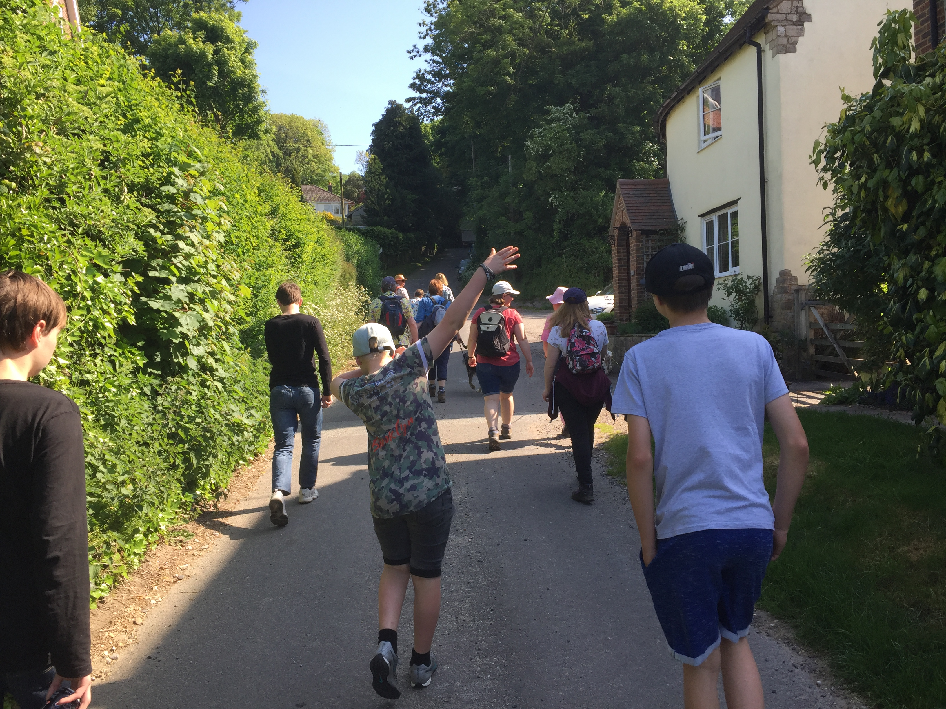 Leaving Tolpuddle