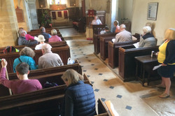 Short service in Tolpuddle