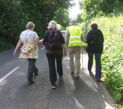 On towards Athelhampton
