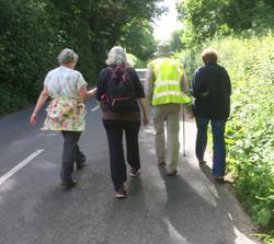 On towards Athelhampton