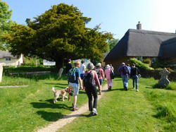 Leaving Tolpuddle Church