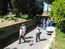 Leaving Milborne Church