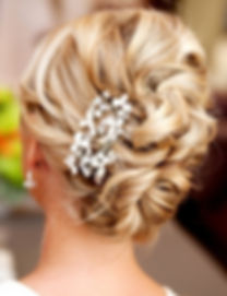 bridal hair up do style wedding