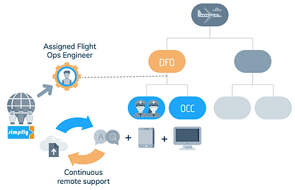 Airline structure with Simpfly