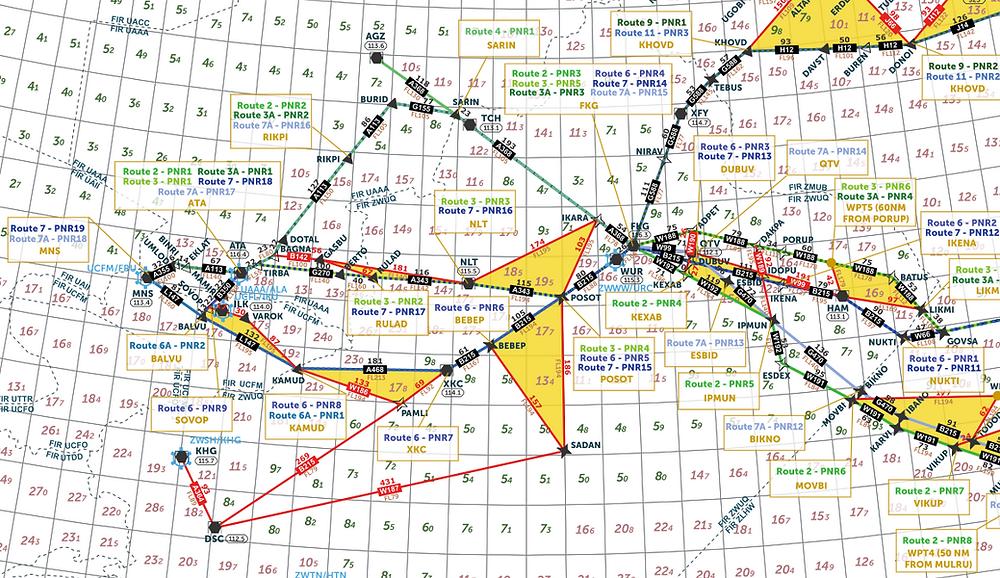 Escape Route Map example