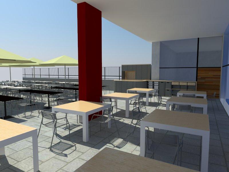 Proyecto terraza Centric Gastrobar