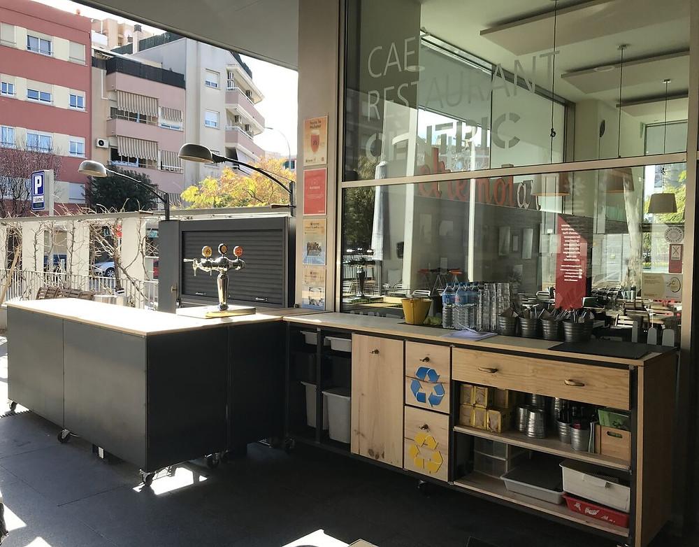 Mobiliario Centric Gastrobar