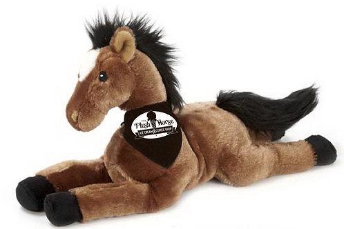 Brown Plush Horse