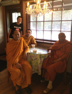 A visit with the Monks