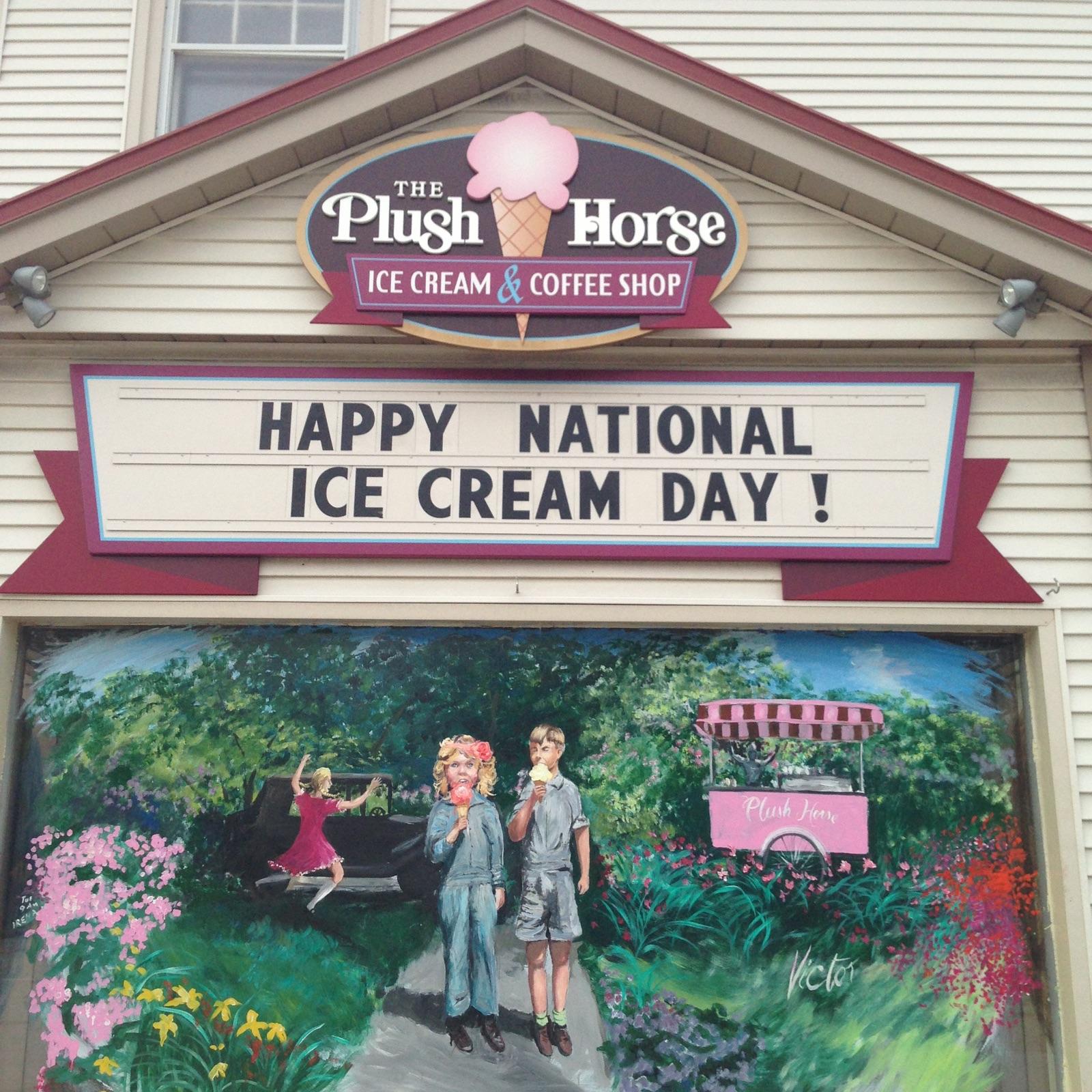 NATIONAL ICE CREAM DAY !