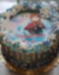 Edible image - Custom cake