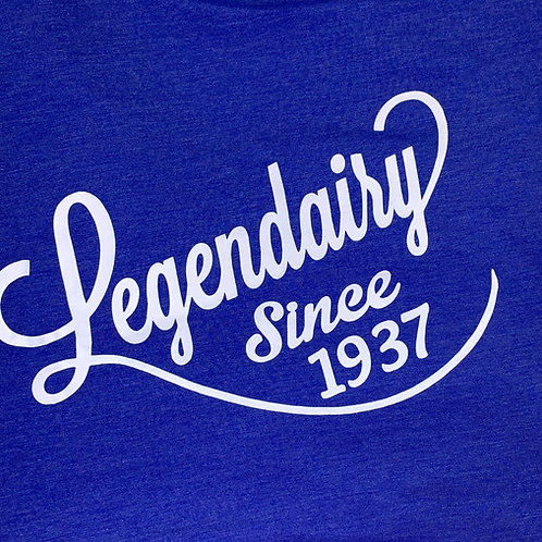 Legendairy T-shirt Adult Electric Blue Short sleeve