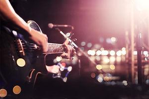 Live-Gitarre