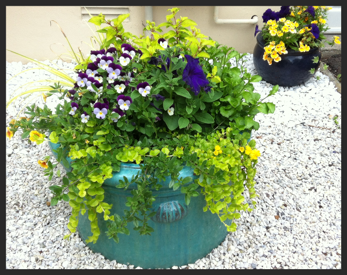 Classic patio planter