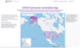 COVID Community Vulnerability Map