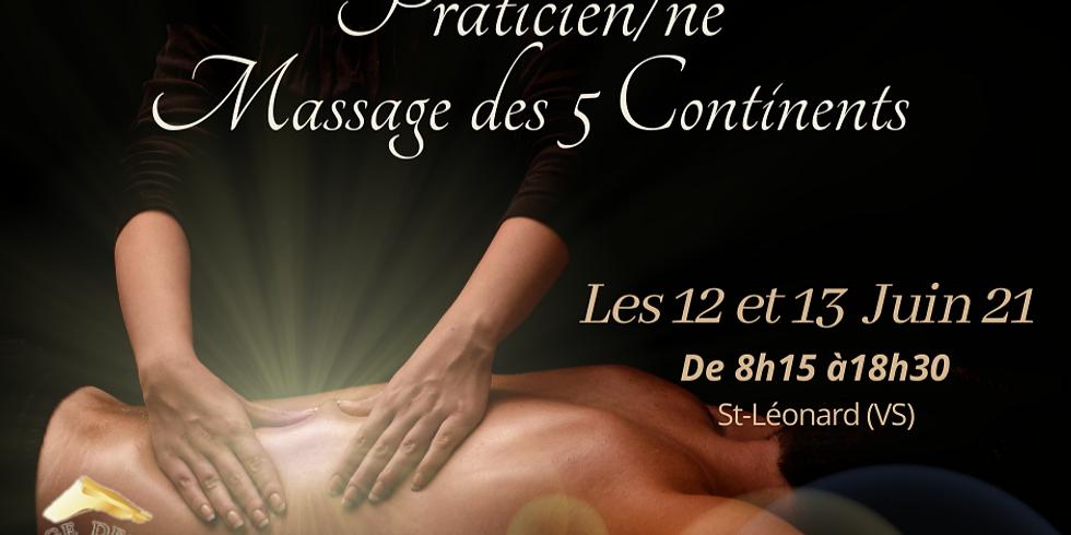 Formation Massage des 5 continents