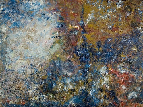 Abstract Canvas Art - Between the worlds