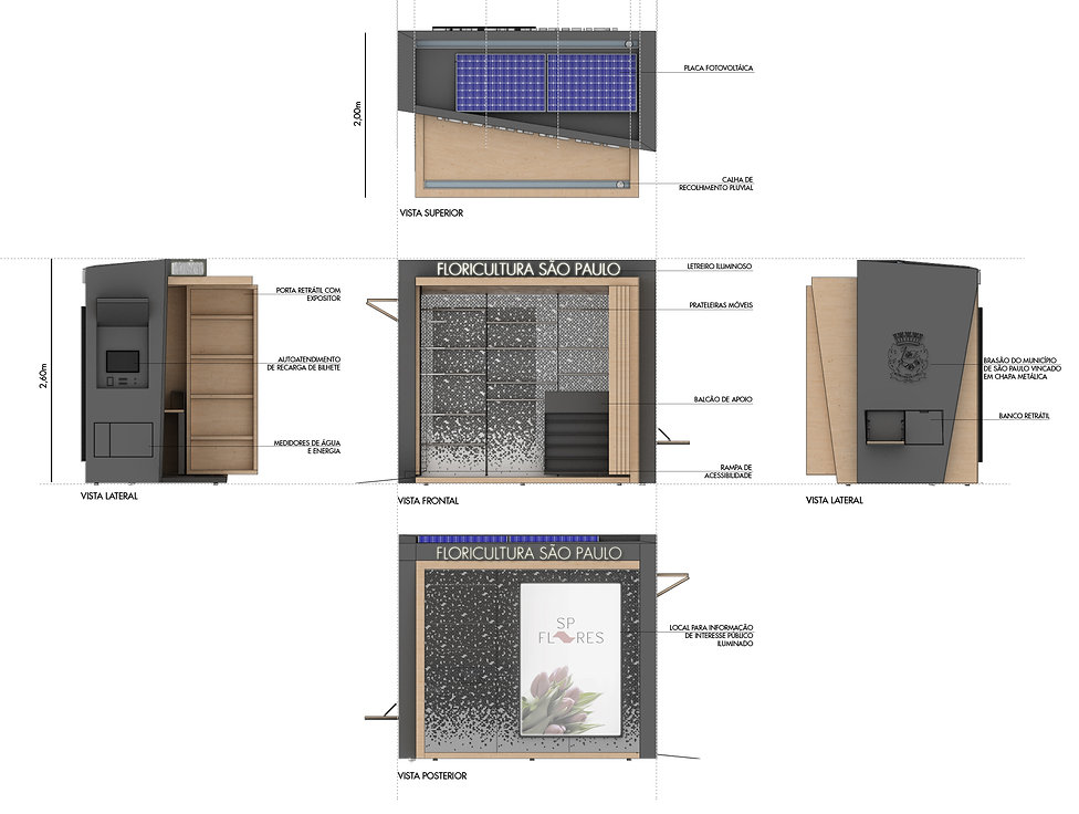 Manga Arquitetura_Mobiliário Urbano Quisque Multioso